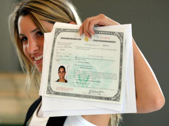 Duplicate Certificate of Naturalization