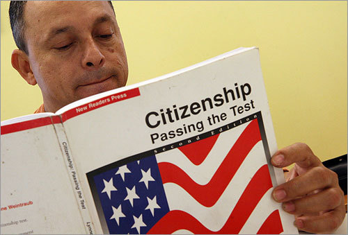 Practice for citizenship test